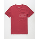 VISSLA Brackets Mens Pocket Tee