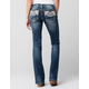 MISS ME Womens Bootcut Jeans