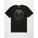 HURLEY Luck All Over Mens T-Shirt