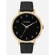 NIXON Arrow Leather Black & Gold Watch