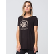LIRA Rose Womens Tunic Tee