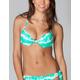 FULL TILT Tie Dye Underwire Halter Bikini Top