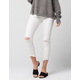 FREE PEOPLE Destroyed Ankle Womens Skinny Jeans