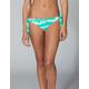 FULL TILT Tie Dye Wide Tie Side Skimpy Bikini Bottoms