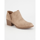 QUPID Low Womens Chelsea Boots