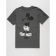 NEFF Shrug Life Mickey Mens T-Shirt