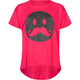 FULL TILT Mustache Smiley Girls Oversized Tee