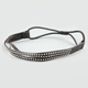 FULL TILT Faux Leather 3 Row Studded Headband