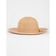 Classic Straw Girls Floppy Hat