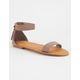 BAMBOO Tassel Ankle Strap Womens Sandals
