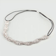 FULL TILT Braided Rhinestone Stretch Headband