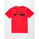 CAPTAIN FIN Septic Services Mens Pocket Tee