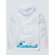 PINK DOLPHIN Tsunami Mens Windbreaker Jacket