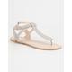 QUPID T-Strap Womens Sandals