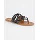 QUPID Strappy Womens Thong Sandals