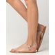 BAMBOO Clear Strap Womens Sandals