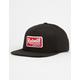 REBEL8 Premium Script Mens Snapback Hat
