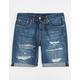 LEVI'S 511 Slim Cut Off Mens Denim Shorts