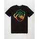 QUIKSILVER Warped Logo Mens T-Shirt
