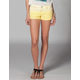 TRUE SOULMATE Ombre Roll Cuff Womens Denim Shorts