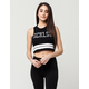 YOUNG & RECKLESS 3 Peat Womens Crop Tank