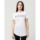 YOUNG & RECKLESS Never Cared Womens Tee