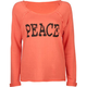 FULL TILT Peace Womens Rolled Cuff Sweastshirt