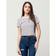 YOUNG & RECKLESS Boxed Trademark Womens Crop Tee