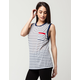 YOUNG & RECKLESS Boxed Trademark Womens Muscle Tee