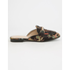 PAPRIKA Satin Dragon Print Womens Mules