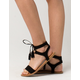 WILD DIVA Tassel Tie Womens Sandals