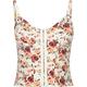 FULL TILT Floral Knit Corset