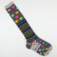 FULL TILT 2 Pack Womens Knee High & No Show Socks