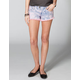 FREESTYLE REVOLUTION Deedee Tiedye Womens Cutoff Denim Shorts