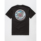 SANTA CRUZ Cali Tie Dye Dot Mens T-Shirt
