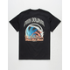 PINK DOLPHIN Wave Over Flame Mens T-Shirt