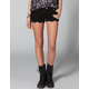 ALMOST FAMOUS Crochet Hem Women Denim Shorts