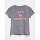 BILLABONG Let's Be Mermaids Girls Tee