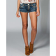 ALMOST FAMOUS Studded Womens Denim Shorts