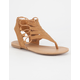 SODA Cutout Bungee Girls Sandals