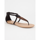 CITY CLASSIFIED Whipstitch Womens Sandals