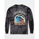 PINK DOLPHIN Wave Over Flame Mens Long T-Shirt