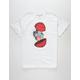 PINK DOLPHIN Globe Shatter Mens T-Shirt