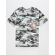 PINK DOLPHIN Squadron Patch Mens T-Shirt