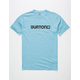 BURTON Logo Horizontal Mens T-Shirt