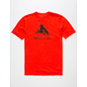 BURTON Stamped Mountain Mens T-Shirt