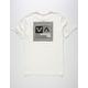 RVCA Cut Stripe Mens T-Shirt