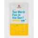 Too Much Fun In The Sun Sheet Mask