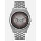 NIXON Time Teller Deluxe Silver Watch