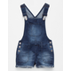 VANILLA STAR Frayed Girls Shortalls